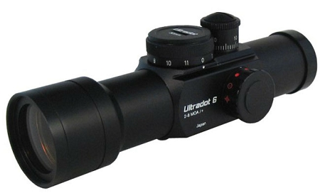 Ultradot Red Dot Optics - Made In Japan - Highest Quality Red Dot Optics For Target And Tactical Shooting.
