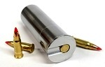 12GA to 17 HM2 Shotgun Adapter - Chamber Reducer - Stainless Steel