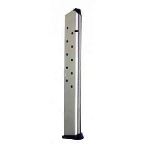 1911 Government Model .45acp (15)Rd Nickel-Plated Steel Magazine