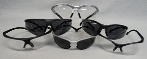Safety VU Safety Glasses - Clear or Tinted