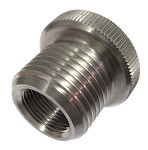 Solvent Trap Oil Filter Adapter 1/2-28 x 3/4-16 Stainless Steel