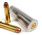 12GA to 357 Magnum & 38SPL RIFLED Shotgun Adapter - Chamber Reducer - Stainless Steel