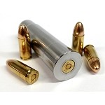 12GA to 9MM Rifled Shotgun Adapter - Chamber Reducer - Stainless Steel