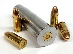 20GA to 9MM RIFLED Shotgun Adapter - Chamber Reducer - Stainless