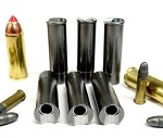 45 COLT to .22 LR Caliber Adapter - Chamber Reducer - Stainless Set of 6