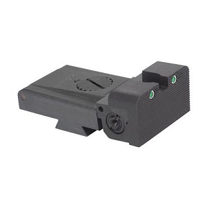 LPA TRT Champion 1911 Sight Trijicon Tritium insert - Night Sights with Rounded Blade