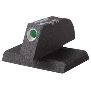 Champion Front Sight Blade Trijicon Tritium insert - Night Sights Flat Base