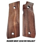 Herrett Ruger MKIV 22/45 RIGHT Hand Walnut Grip Panels