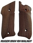 Herrett Ruger MKIV RIGHT Hand Walnut Grip Panels (COPY)