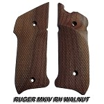 Herrett Ruger MKIV RIGHT Hand Walnut Grip Panels