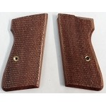 Herrett Walther PPK/S Walnut Checkered Stock Grips